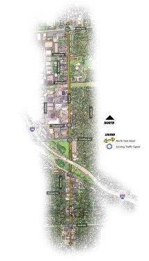 Elmhurst-Location-Map