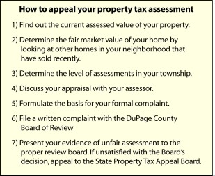 property tax steps