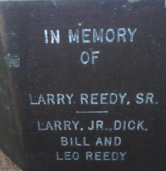 Larry Reedy Memorial